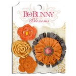 Bo Bunny - Blossoms - Dahlia - Harvest Orange