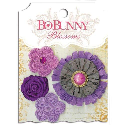 Bo Bunny - Blossoms - Dahlia - Plum Purple