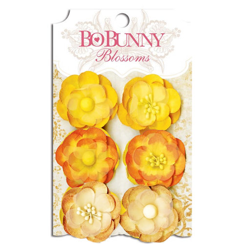 Bo Bunny - Blossoms - Pansy - Buttercup