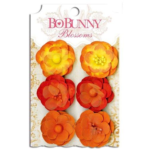 Bo Bunny - Blossoms - Pansy - Harvest Orange