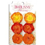 BoBunny - Blossoms - Pansy - Harvest Orange