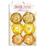 Bo Bunny - Blossoms - Pansy - Natural Earth