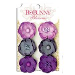 Bo Bunny - Blossoms - Pansy - Plum Purple