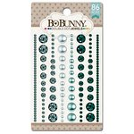 BoBunny - Double Dot Designs Collection - Bling - Jewels - Aqua