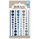 Bo Bunny - Double Dot Designs Collection - Bling - Jewels - Blue Hues