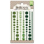 BoBunny - Double Dot Designs Collection - Bling - Jewels - Emerald
