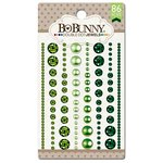 Bo Bunny - Double Dot Designs Collection - Bling - Jewels - Emerald