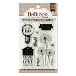 BoBunny - Clear Acrylic Stamps - Be The Light