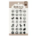 BoBunny - Clear Acrylic Stamps - Emoji 2.0