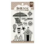 BoBunny - Clear Acrylic Stamps - Life's A Beach
