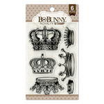 BoBunny - Clear Acrylic Stamps - Royalty