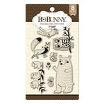 BoBunny - Clear Acrylic Stamps - Woodland Critters