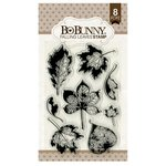 BoBunny - Clear Acrylic Stamps - Falling Leaves