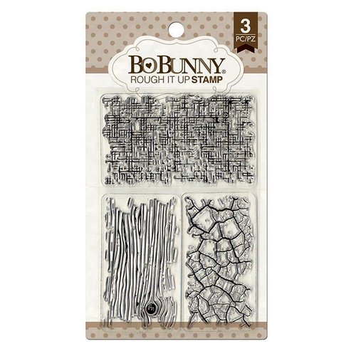 BoBunny - Clear Acrylic Stamps - Rough It Up