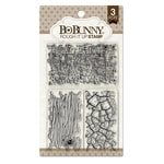 Bo Bunny - Clear Acrylic Stamps - Rough It Up