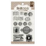 BoBunny - Clear Acrylic Stamps - Postale