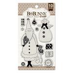 BoBunny - Christmas - Clear Acrylic Stamps - Holly Jolly