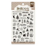 BoBunny - Clear Acrylic Stamps - Holiday Icon