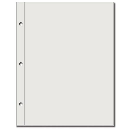 BoBunny - Misc Me - 6 x 8 Page Protectors - 10 Pack