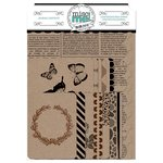 BoBunny - Misc Me Collection - Journal Contents - Kraft