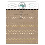 BoBunny - Misc Me Collection - Envelopes - Gold and Kraft
