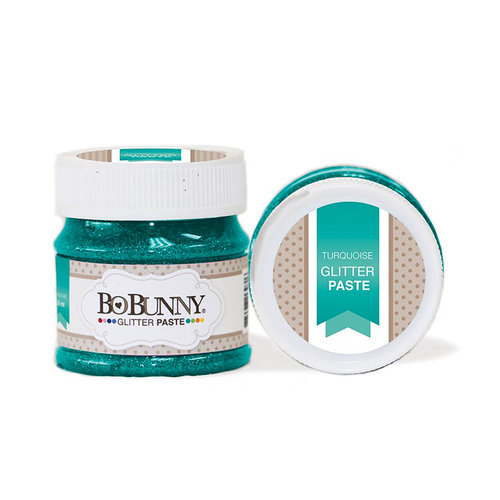 BoBunny - Glitter Paste - Turquoise