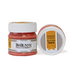 BoBunny - Double Dot Collection - Glitter Paste - Orange Citrus