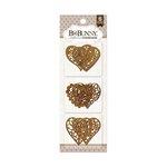 BoBunny - Laser Cut Chipboard - Hearts