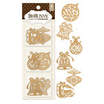 BoBunny - Christmas - Laser Cut Chipboard - Ornaments