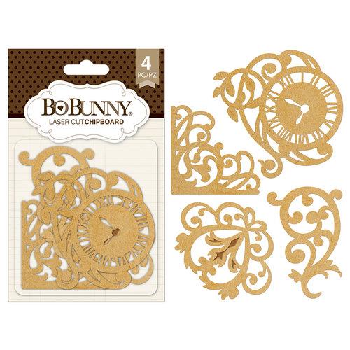 BoBunny - Laser Cut Chipboard - Elegant