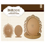 BoBunny - Ornate Chipboard Frame - Oval
