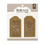 BoBunny - Laser Cut Chipboard - Lace Tags
