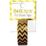BoBunny - Washi Tape - Chevron - Gold Foil