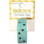 Bo Bunny - Washi Tape - Dot - Gold Foil