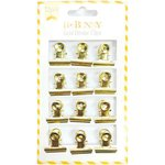 BoBunny - Binder Clips - Gold