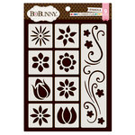 BoBunny - Stickable Stencils - Flower Fun