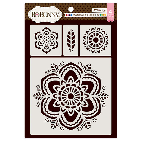 BoBunny - Thick Stencils - Mandala Garden