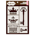 BoBunny - Thick Stencils - Royal