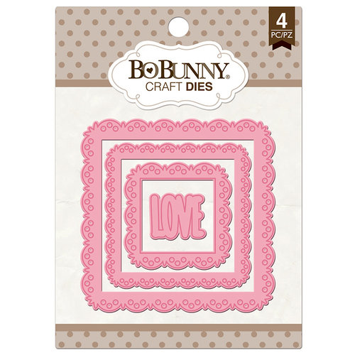BoBunny - Craft Dies - Love Squared