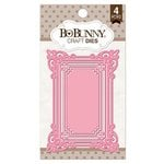 BoBunny - Craft Dies - 3 x 4 Ornate Frame