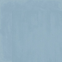 BoBunny - Double Dot Designs Collection - 12 x 12 Double Sided Paper - Country Blue