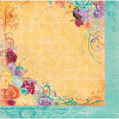 Bo Bunny Press - Ambrosia Collection - 12 x 12 Double Sided Paper - Ambrosia