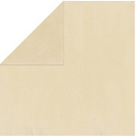 Bo Bunny Press - Double Dot Paper - 12 x 12 Double Sided Paper - Almond Dot