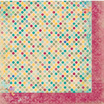 Bo Bunny - Ambrosia Collection - 12 x 12 Double Sided Paper - Dot