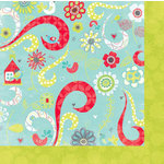 Bo Bunny Press - Alora Collection - 12 x 12 Double Sided Paper - Giggles