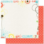 Bo Bunny Press - Ad Lib Collection - 12 x 12 Double Sided Paper - Improv