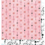 Bo Bunny Press - Alissa Collection - 12 x 12 Double Sided Paper - Alissa Kissable, CLEARANCE