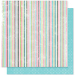 Bo Bunny Press - Alissa Collection - 12 x 12 Double Sided Paper - Alissa Spunky