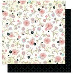 Bo Bunny Press - Alissa Collection - 12 x 12 Double Sided Paper - Alissa Twirls