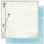 Bo Bunny Press - Ad Lib Collection - 12 x 12 Double Sided Paper - Scribbles